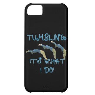 Tumbling gymnast iPhone 5C case