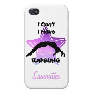 Tumbling Gymnastics iPhone 4 Case
