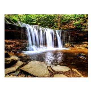 Tumbling Waterfall Postcard
