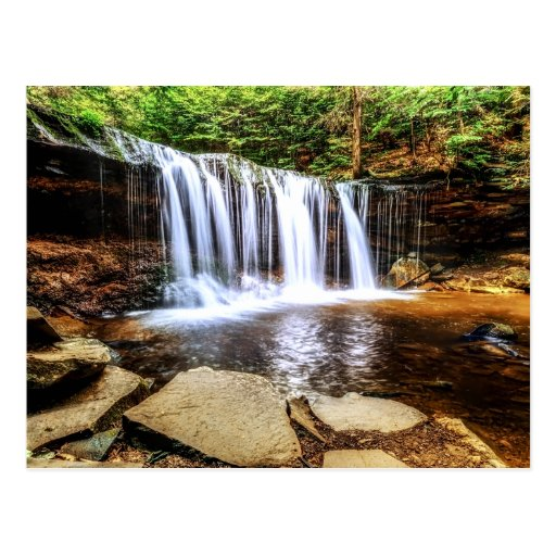 Tumbling Waterfall Postcard