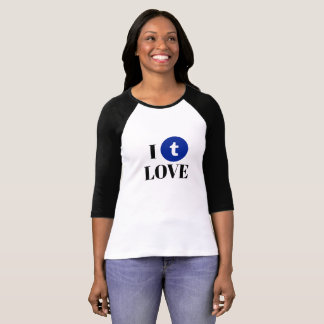 Tumblr 3/4 Sleeve Raglan T-Shirt