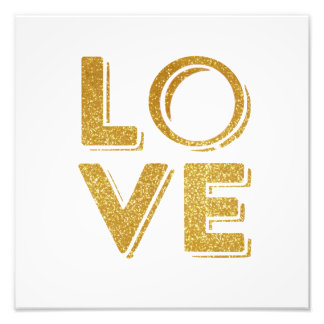TUMBLR ROOM GLITTER LOVE WALL ART PHOTOGRAPHIC PRINT