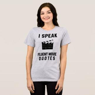 Tumblr T-Shirt I Speak Fluent Movie Quotes