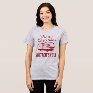 Tumblr T-Shirt Merry Christmas Shitter's Full