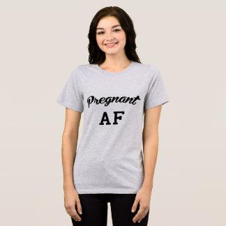 Tumblr T-Shirt Pregnant AF
