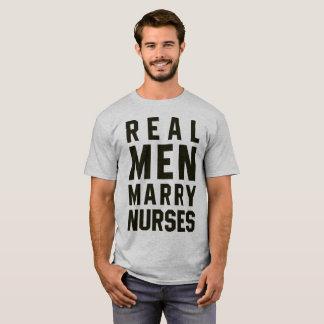 Tumblr T-Shirt Real Men Marry Nurses