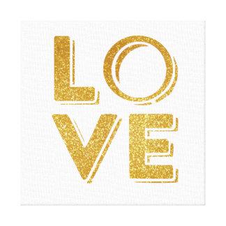 TUMBLR WALL ART GLITTER LOVE