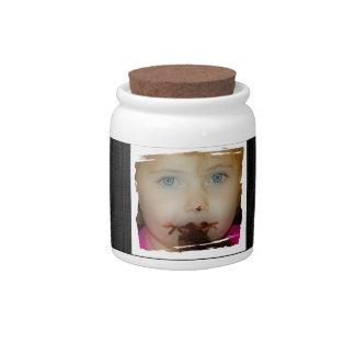 Tummy Yummy Sweet Treat Candy Jar