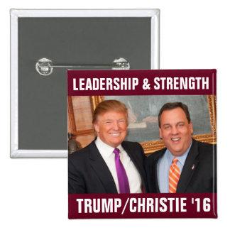 Tump/Christie 2016 15 Cm Square Badge