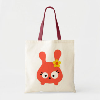 Tumsy the bunny canvas bags