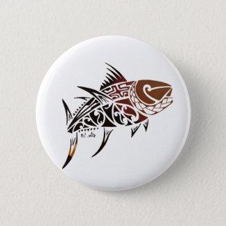 Tuna 6 Cm Round Badge