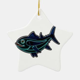 Tuna Ceramic Ornament