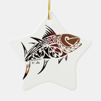 Tuna Ceramic Ornament