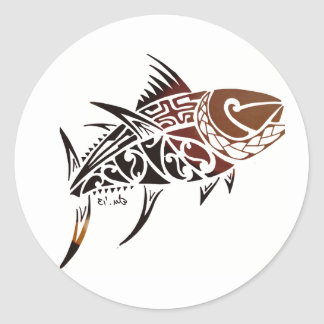 Tuna Classic Round Sticker
