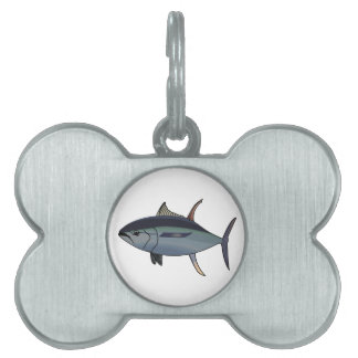 TUNA FISH PET TAG