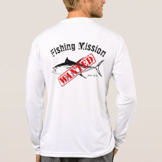 Tuna Fishing Mission Wanted Shirt
