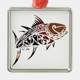 Tuna Metal Ornament