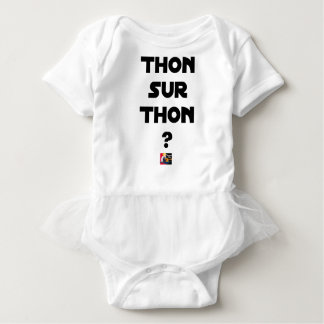 TUNA ON TUNA - Word games - François City Baby Bodysuit