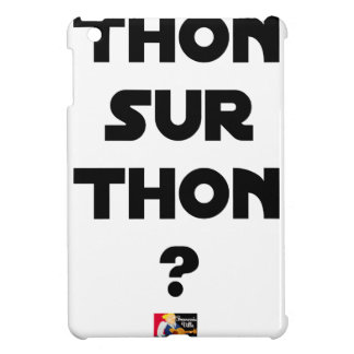 TUNA ON TUNA - Word games - François City iPad Mini Cover