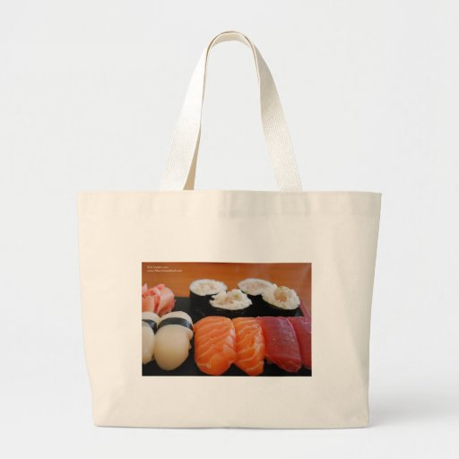 Tuna Salmon Whitefish Sushi Giftts Cards Tees Canvas Bags