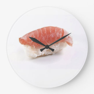Tuna Sushi Wall Clock, Japanese Food gift Large Clock