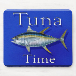 Tuna time mousepad