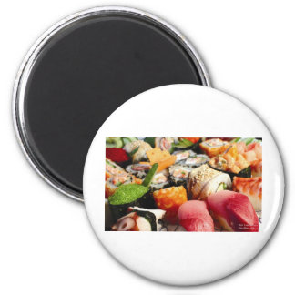 Tuna, YellowFin, Calif Rolls, Roe Etc Gifts & Tees Magnets