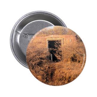 Tundra Shack in Ak Pinback Button