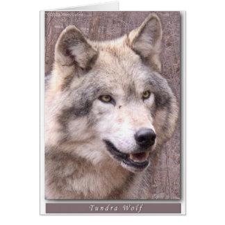 Tundra Wolf Card