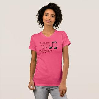 Tune My Heart --- T-shirt - Ladies