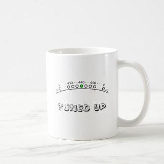 Tuned up coffee mug