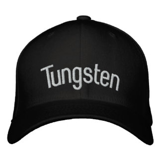 Tungsten Embroidered Baseball Caps