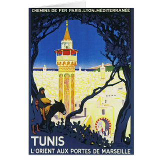Tunis ~ L'Orient Aux Portes de Marseille Greeting Card