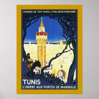 Tunis ~ L'Orient Aux Portes de Marseille Poster