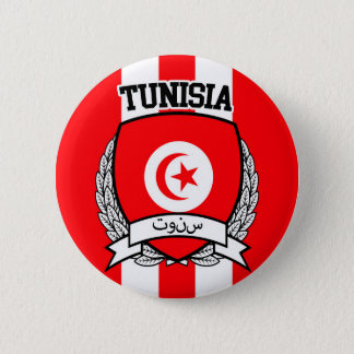 Tunisia 6 Cm Round Badge
