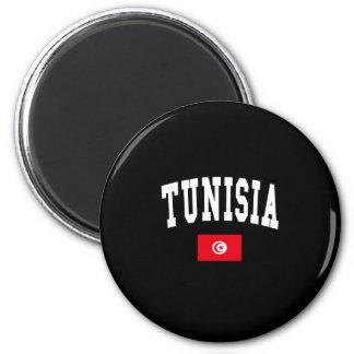TUNISIA 6 CM ROUND MAGNET