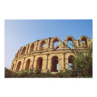 Tunisia amphitheatre art photo