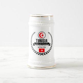 Tunisia Beer Stein