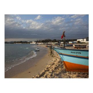 Tunisia, Cap Bon, Hammamet, waterfront, Post Cards