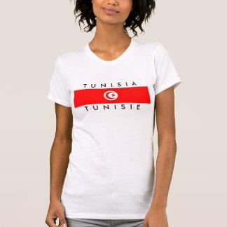 tunisia country flag name text symbol tshirts