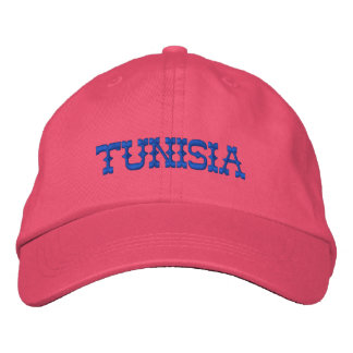 TUNISIA CUSTOM EMBROIDERED HAT