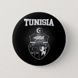 Tunisia Emblem 6 Cm Round Badge