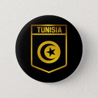 Tunisia Emblem 6 Cm Round Badge