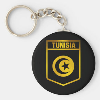 Tunisia Emblem Key Ring