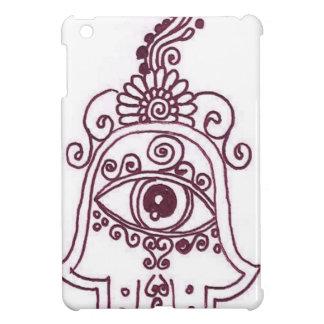 tunisia evil eye henna iPad mini cover