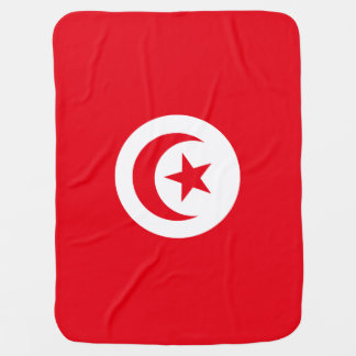 Tunisia Flag Baby Blanket