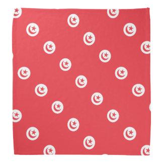 Tunisia Flag Bandana
