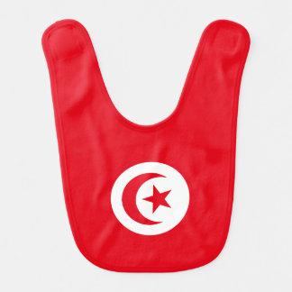 Tunisia Flag Bib