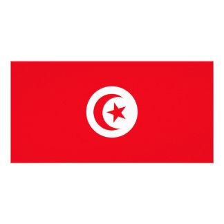 Tunisia Flag Card