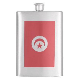 Tunisia Flag Flasks